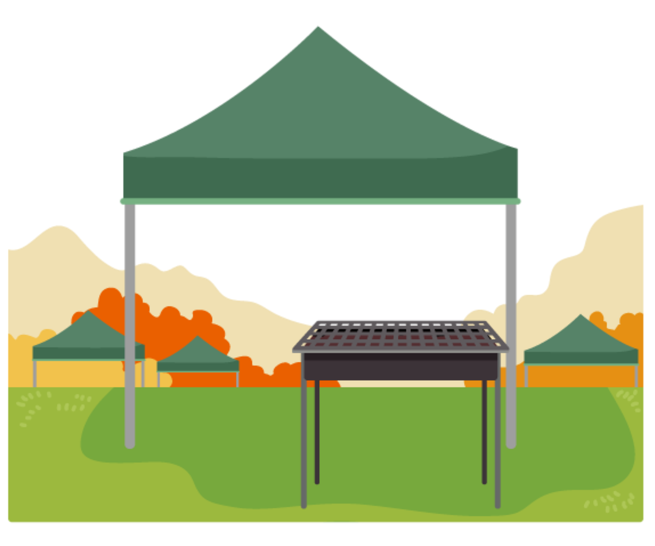 How to Take the Weather in Your Stride When Using a Popup Canopy Tent