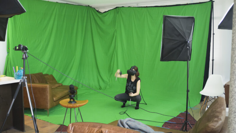 How to set up a green screen studio at home- a simple guide